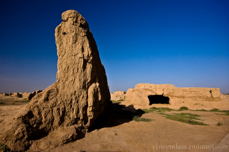 China, XinJiang, Turfan, Ancient Gaochang City