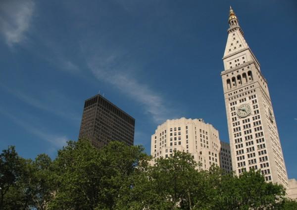 Manhattan buildings on 23rd Street.