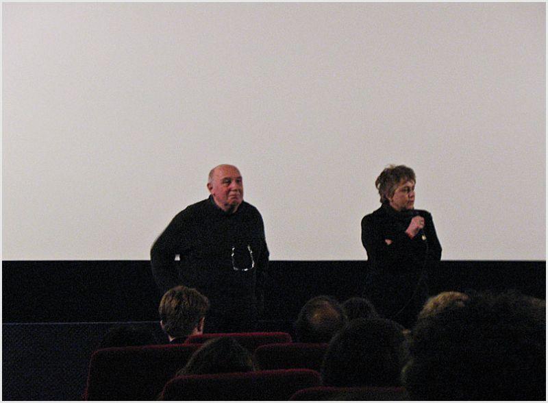 Raymond Depardon and his wife