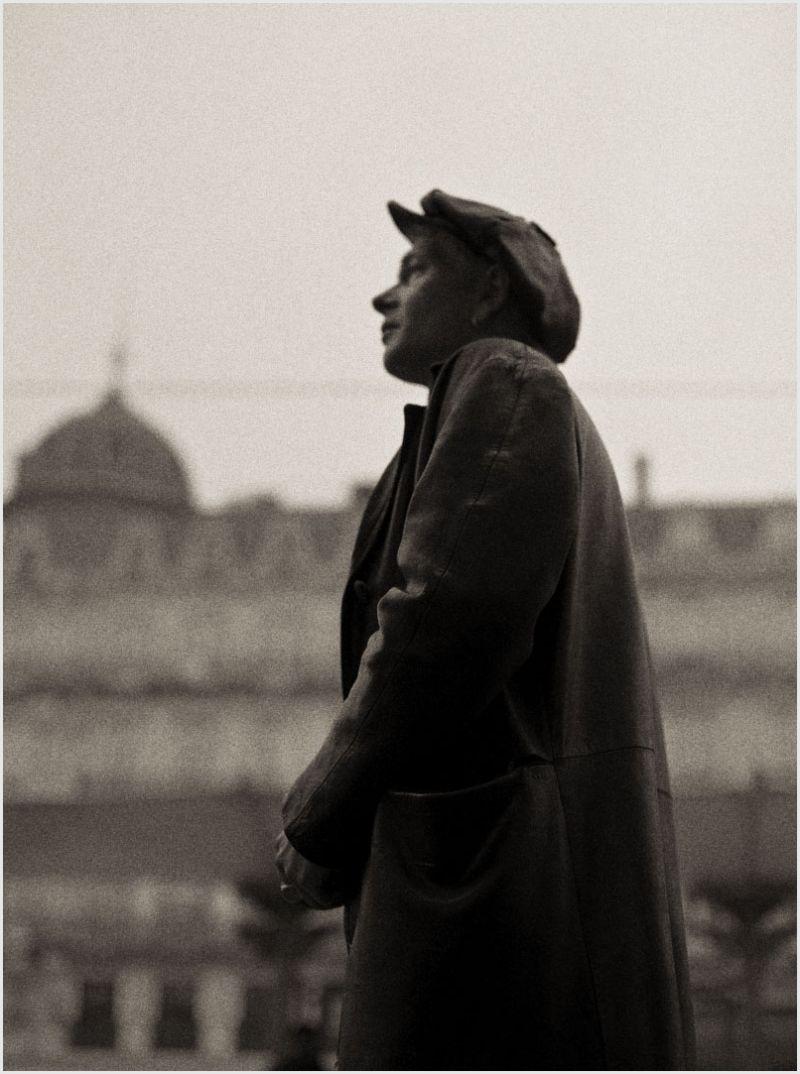 A man walking on a street in Montpellier.