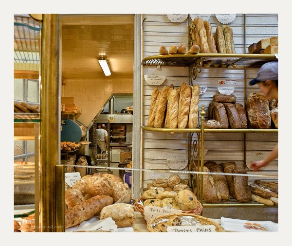 Great bakery in Montpellier, France.