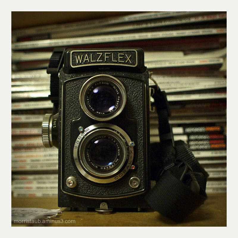 Walzflex tlr camera from the 1950