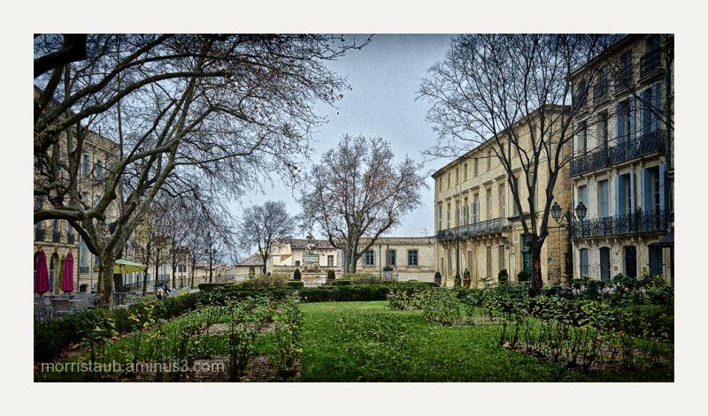 Place de la Canourgue in Montpellier, France.