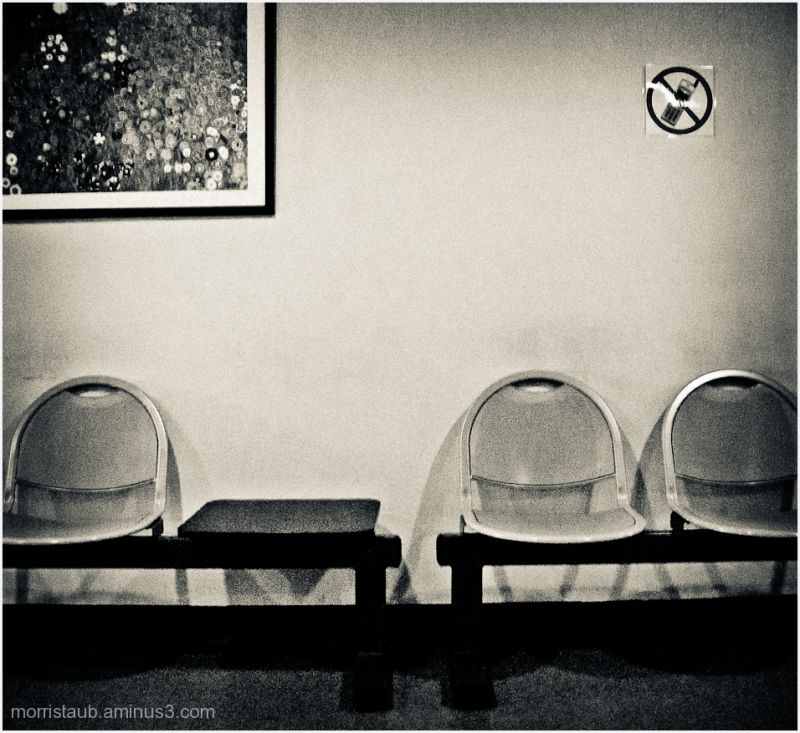 Empty chairs in doctor