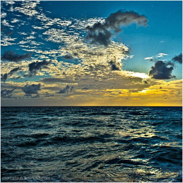 Sunrise in Miami Beach.