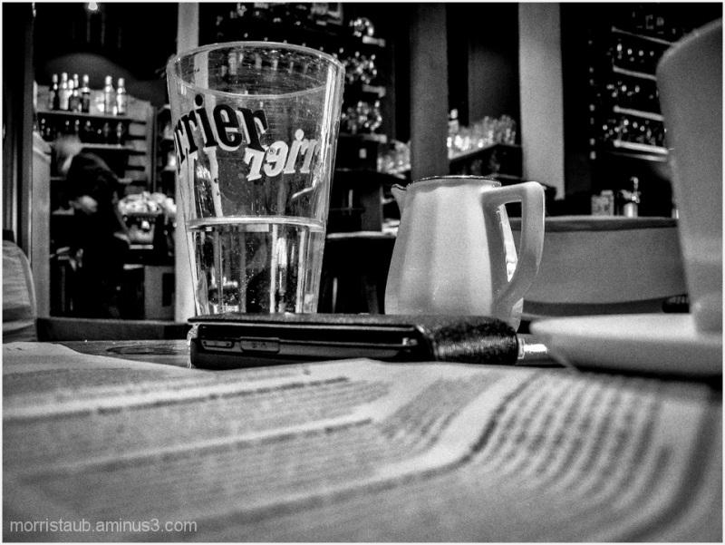 Scene at Cafe Latitude.