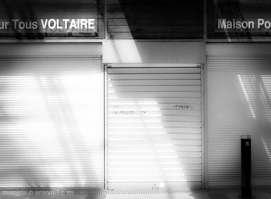 Front of a maison pour tous in Montpellier.