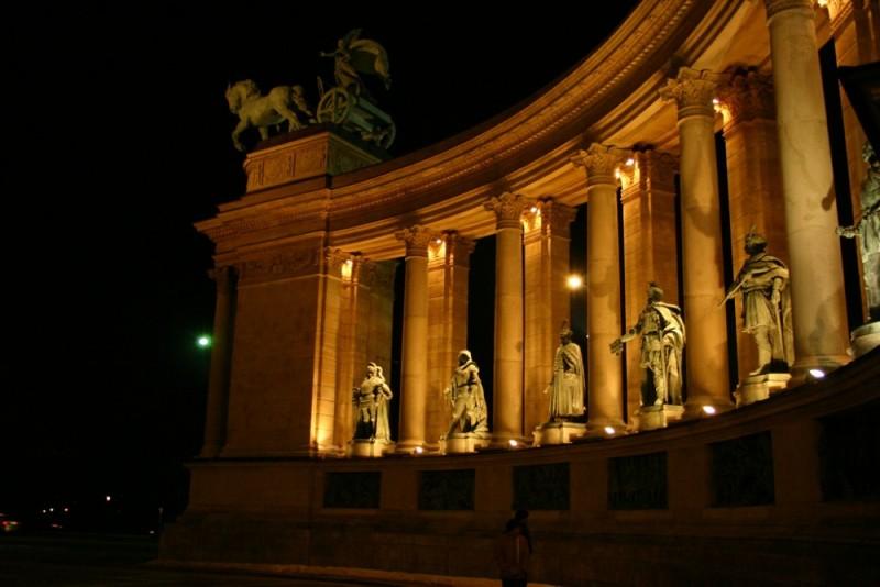 Hero Square Budapest Hungary
