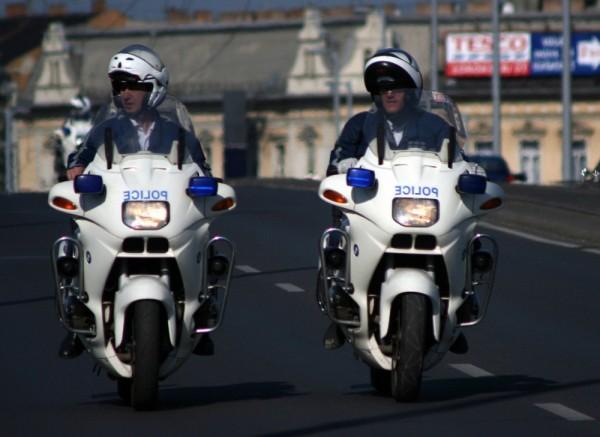 police Budapest Hungary