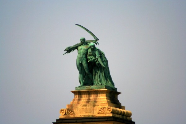 Budapest, statue, sculpture