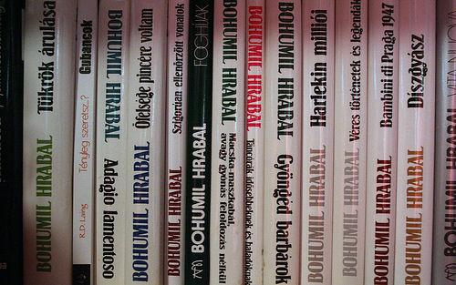 Hrabal, books, Könyvek