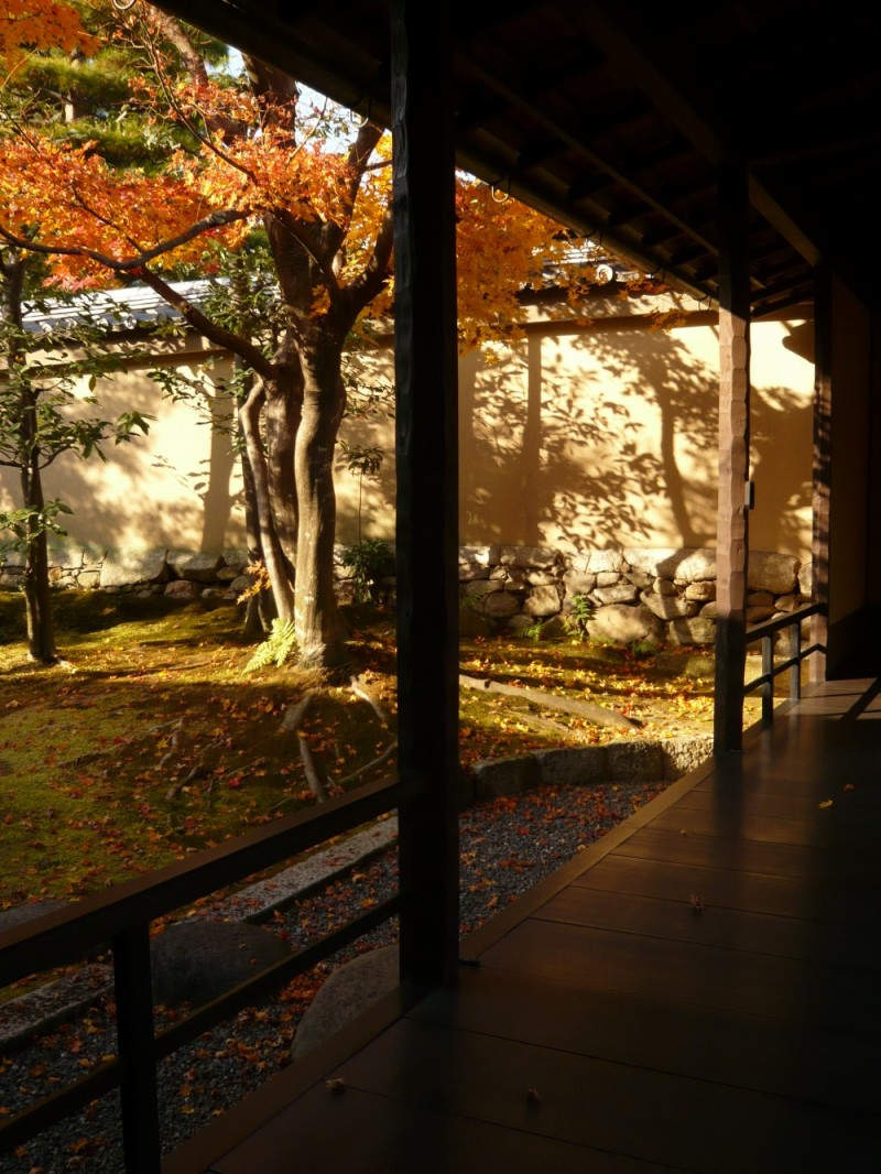 Late Afternoon, Obai-in Temple (黄梅院)