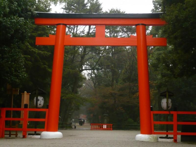 Rainy Day, Shimogamo Shrine