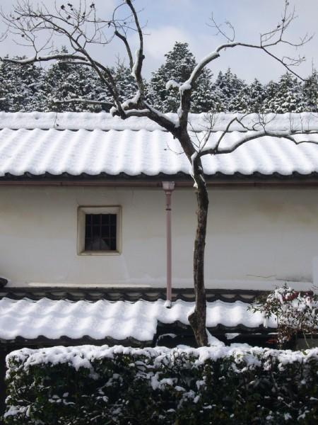 Snowy Storehouse in Iwakura, Kyoto (岩倉 京都市)