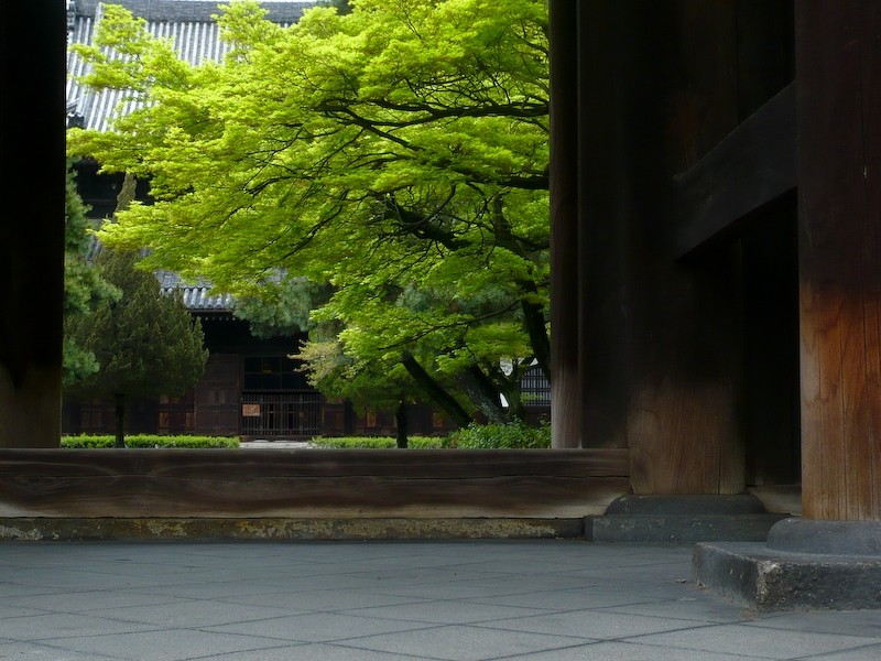 Windows and Gates, 3: Kennin-ji (建仁寺)