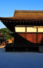 Evening Coming, Shimogamo Shrine (下鴨神社)
