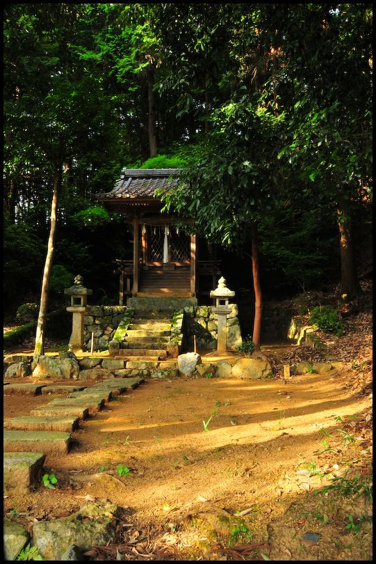 Rural Shrine, Late Afternoon