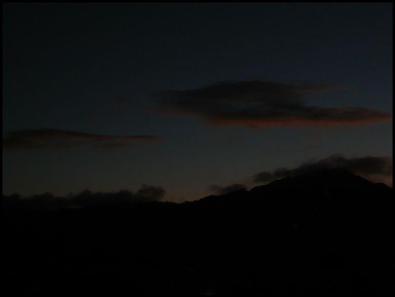 Nocturne:  Mt. Hiei (比叡山)