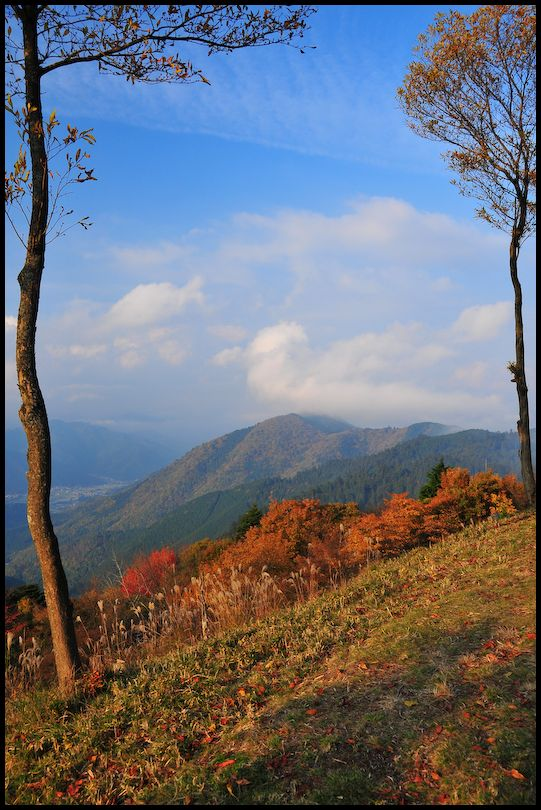 View from Mt. Hiei, Late Afternoon