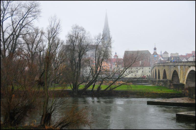 Regensburg, Rain