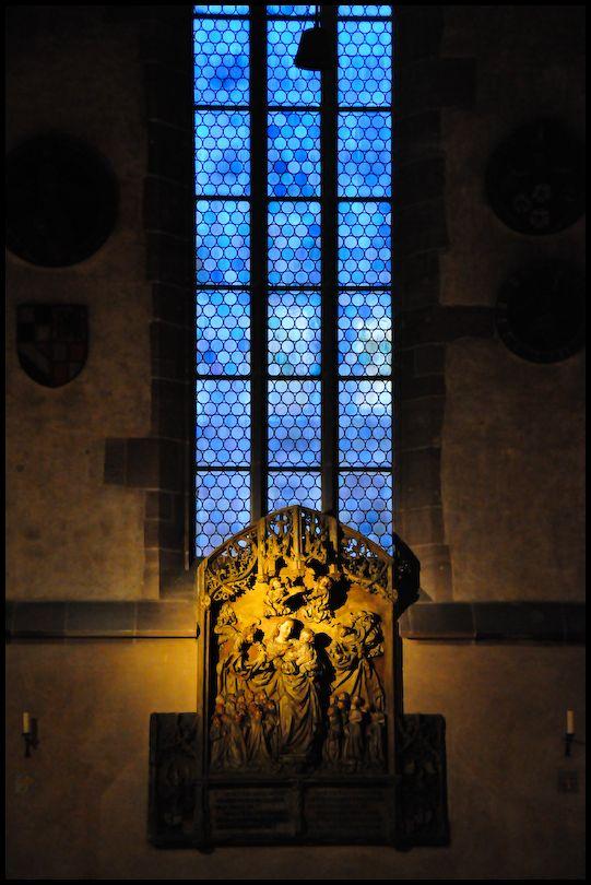 Evening, Marienkirche, Nürnberg