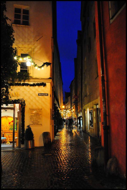 Night Shopping, Regensburg