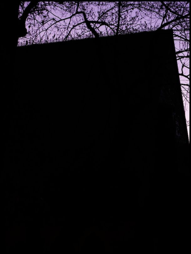 Nocturne in Lavender and Black (同志社 チャペル)