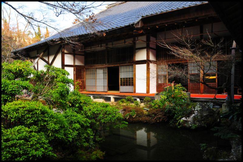 Winter: Jisso-in Temple