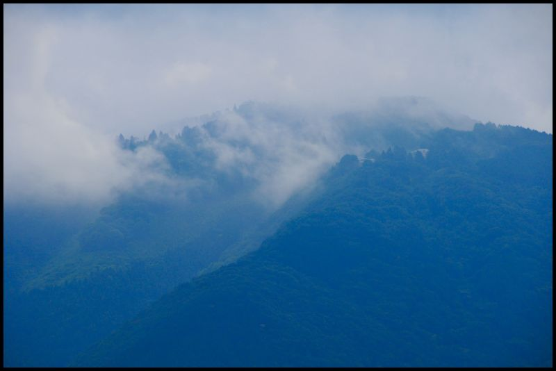 Rainy Season, Mt. Hiei
