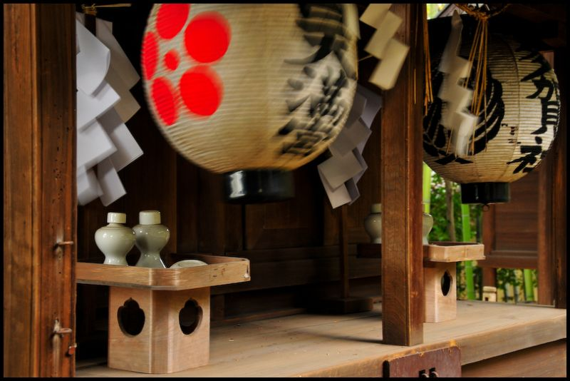 The Spirits Move: Awata Shrine (粟田神社)