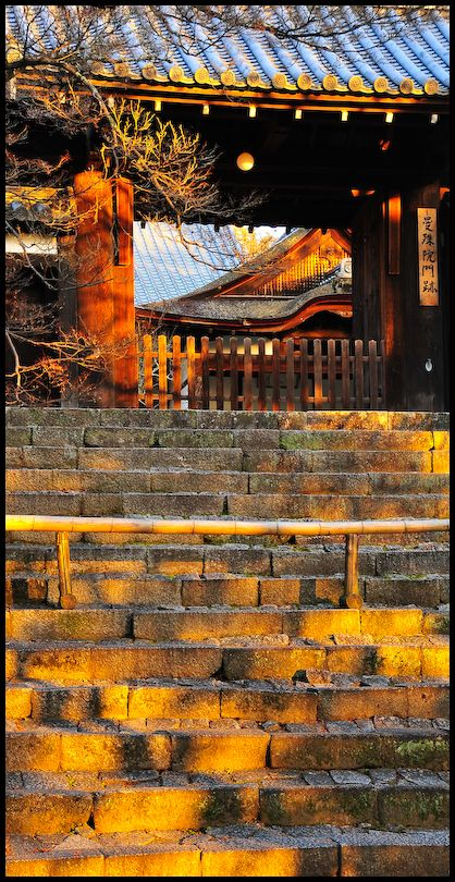 Gilded Evening, Manshu-in Temple