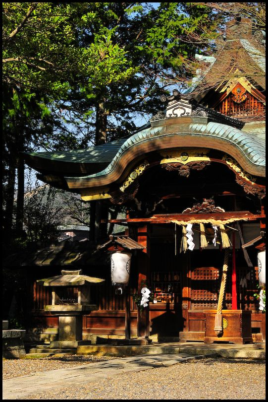 Sacred Spaces: Quiet Sunday (粟田神社)