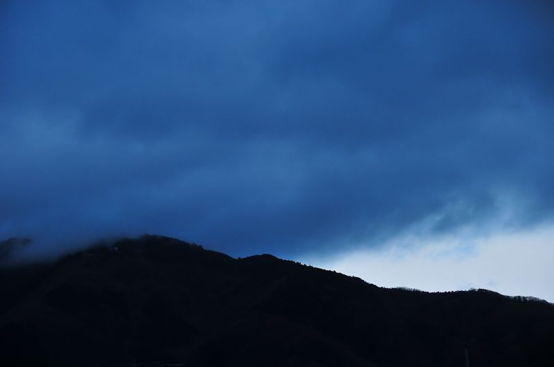 Rainy Evening, Mt. Hiei