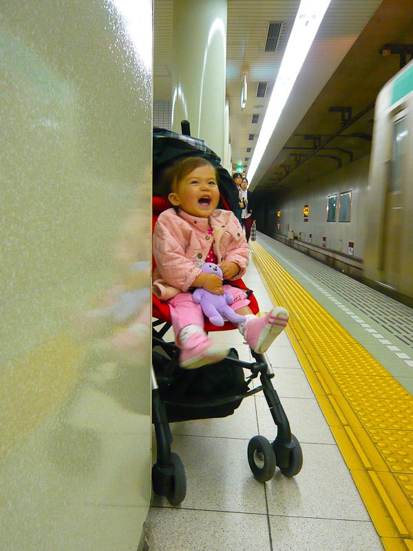 The Train Arrives! 「来た!」