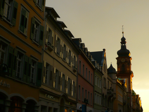 Heidelberg, Evening