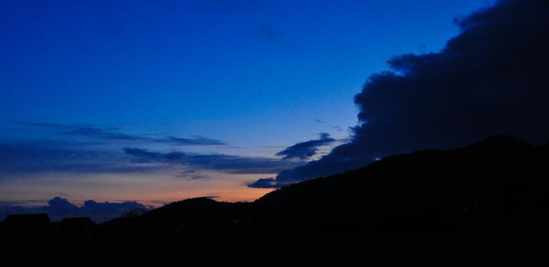 Evening Comes