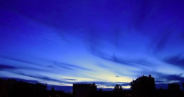 city sunset XV