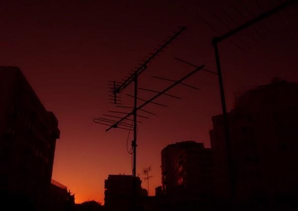 city sunset XXII