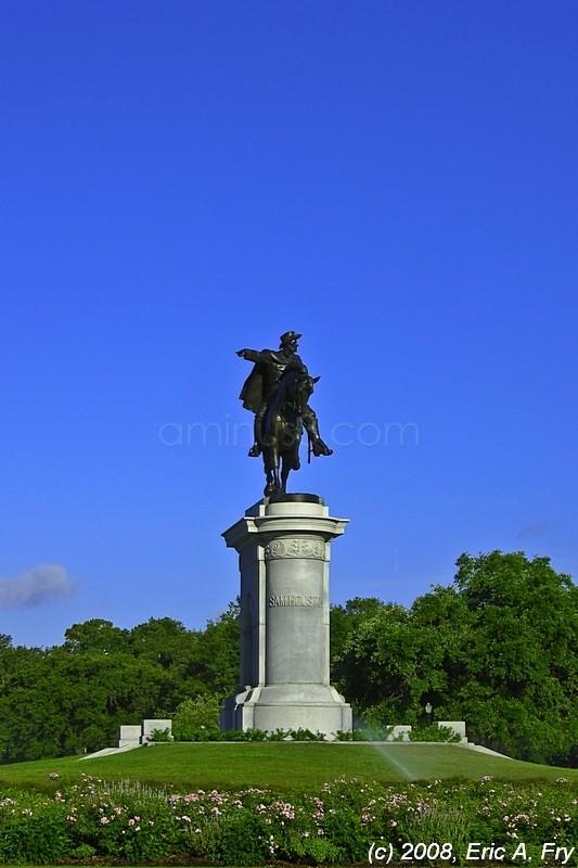 Sam Houston Monument - Hermann Park 1