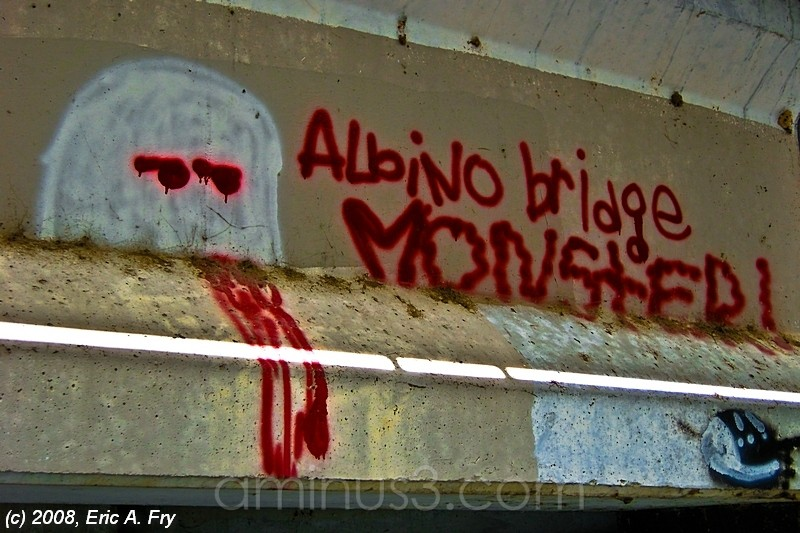 Albino Bridge Monster...