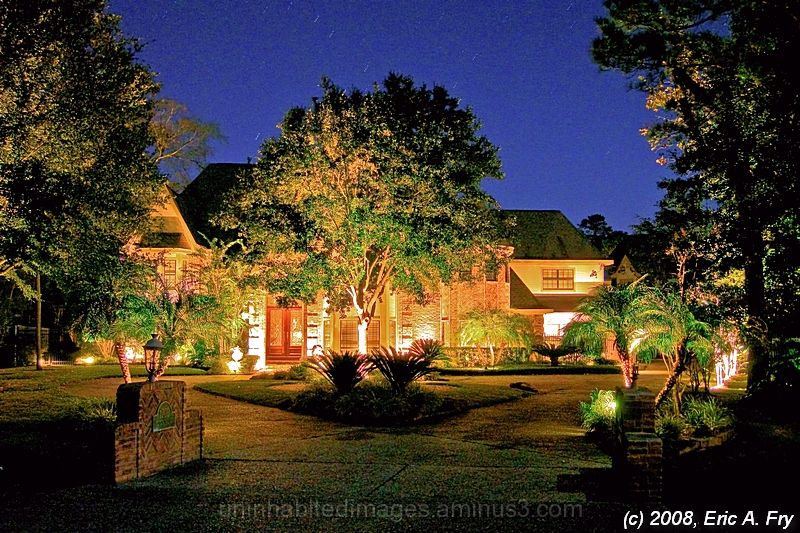 Nighttime HDR - House 1