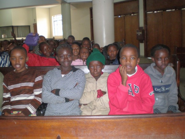 Children at VBS