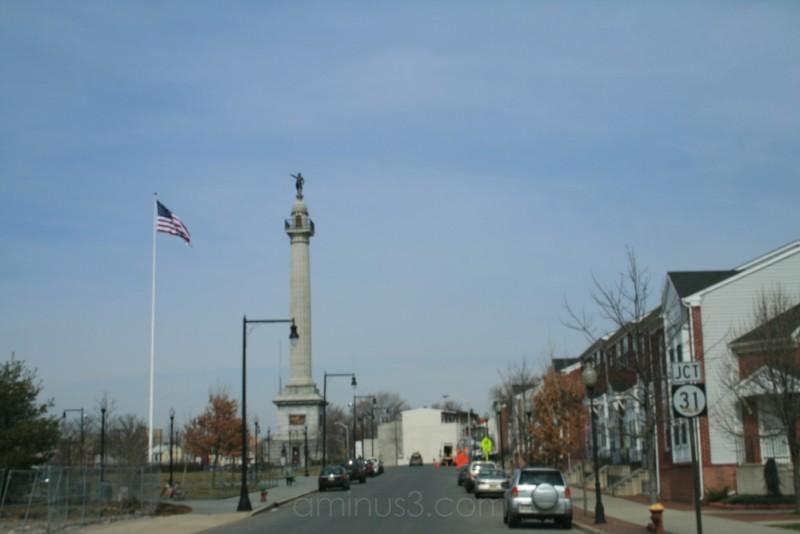 statue in Trenton