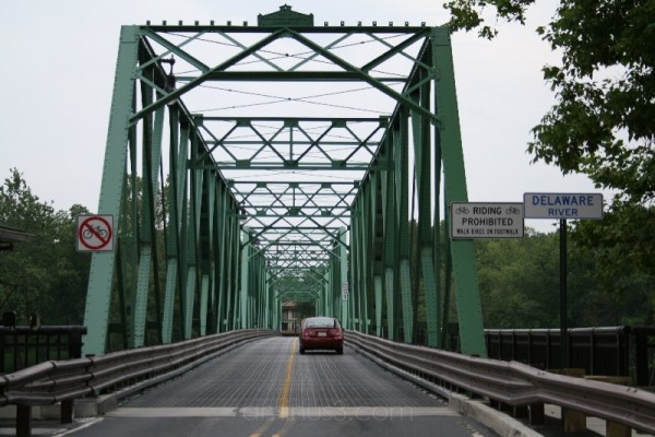 Belvidere Bridge From NJ to Pa