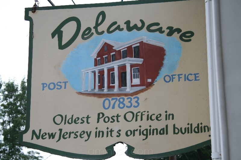 Delaware NJ Post Office Sign