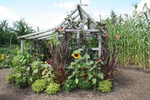 Longwood gardens a spot to sit