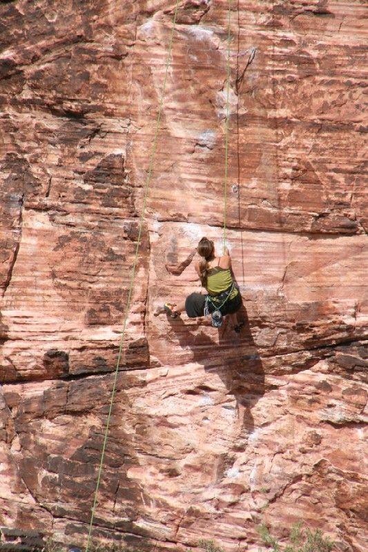 Red Rock Canyon Rock Climber