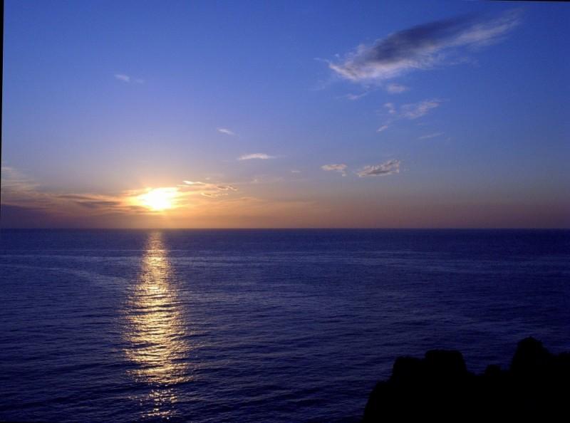 posta de sol a punta nati