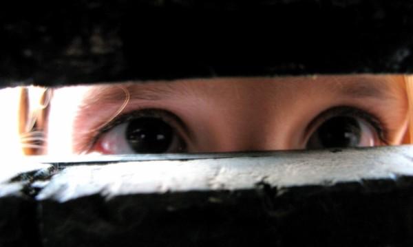 ojos, voyeur
