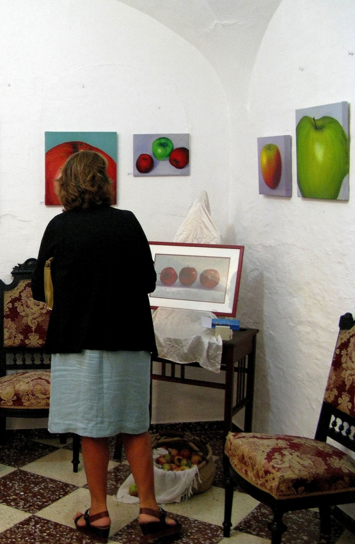 mis pinturas manzanas